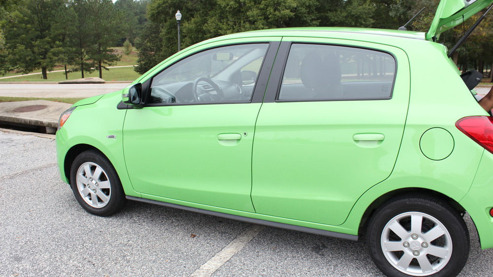 2015 mitsubishi mirage es green