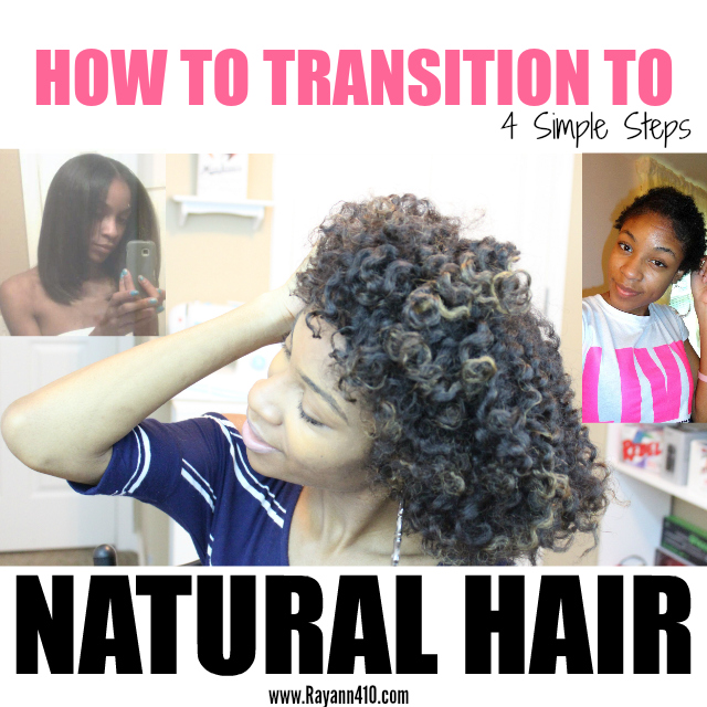 How To Transition From Relaxed To Natural Hair Without The Big Chop