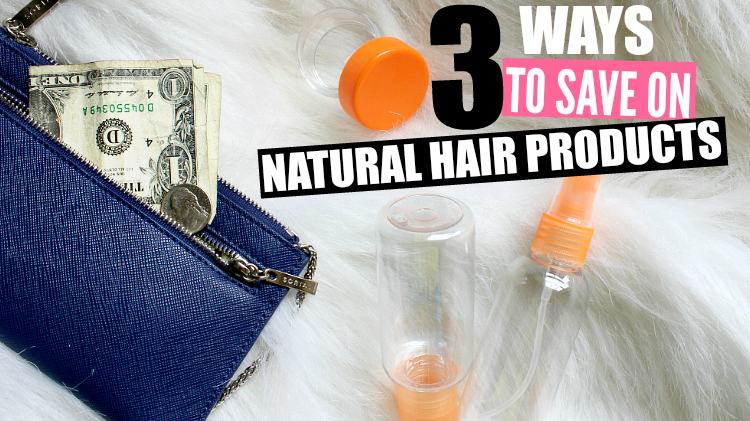 3 Ways to Save Money on Natural Hair Products using Groupon