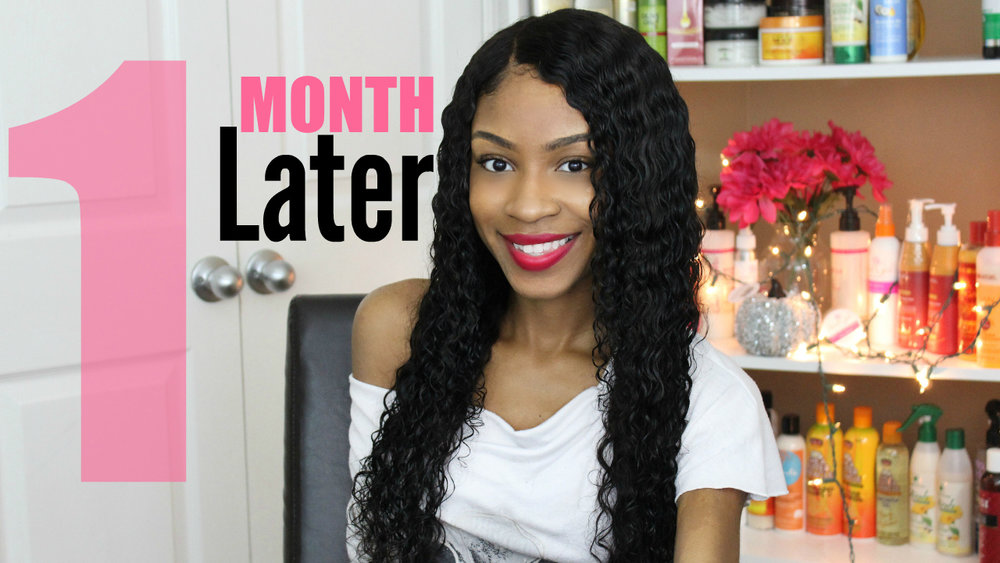 Beauty Forever Hair Review►Brazilian Deep Wave 1 Month Update