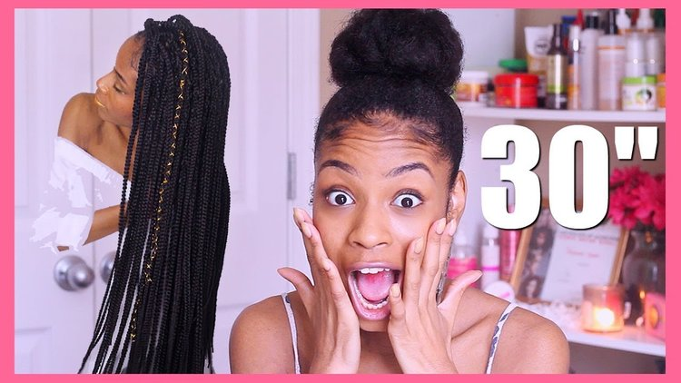 How To Jumbo Flat Twist▻ Natural Hair Protective Style with