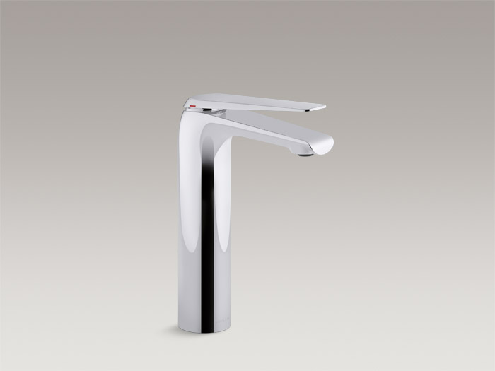 Tall single-handle bathroom sink faucet    K-97347T-4    Without drain    K-97347T-4ND     Specs and Details