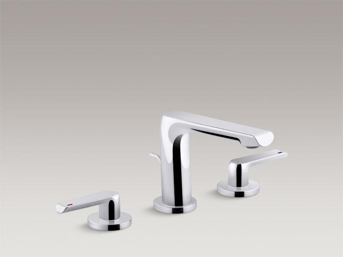 Deck-mount bath faucet trim K-97363T-4