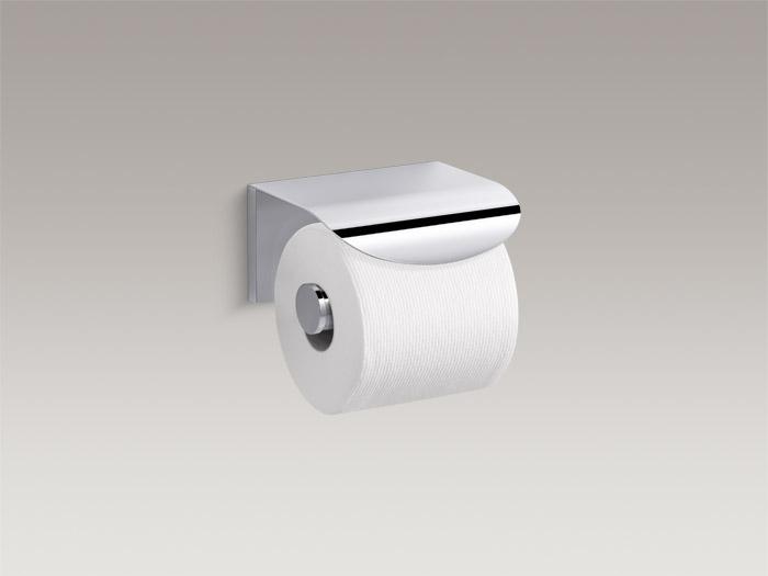 Covered toilet tissue holder    K-97503T