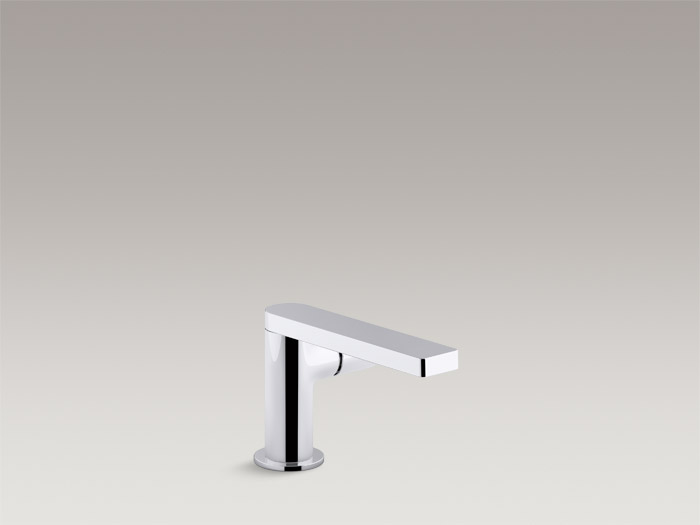 Single-handle bathroom sink faucet with pure handle    K-73050-7    Without drain    K-73050-7ND    Specs and Details