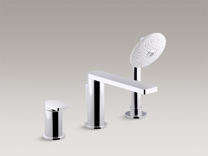 Bath faucet trim with handshower K-73078T-4