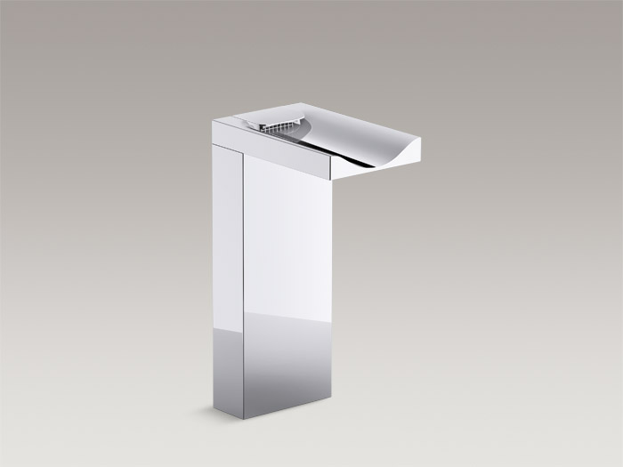 Single-handle tall bathroom sink faucet    K-99858T-4-CP