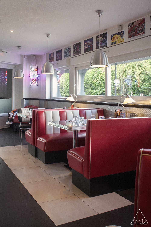 American Diner - Inside