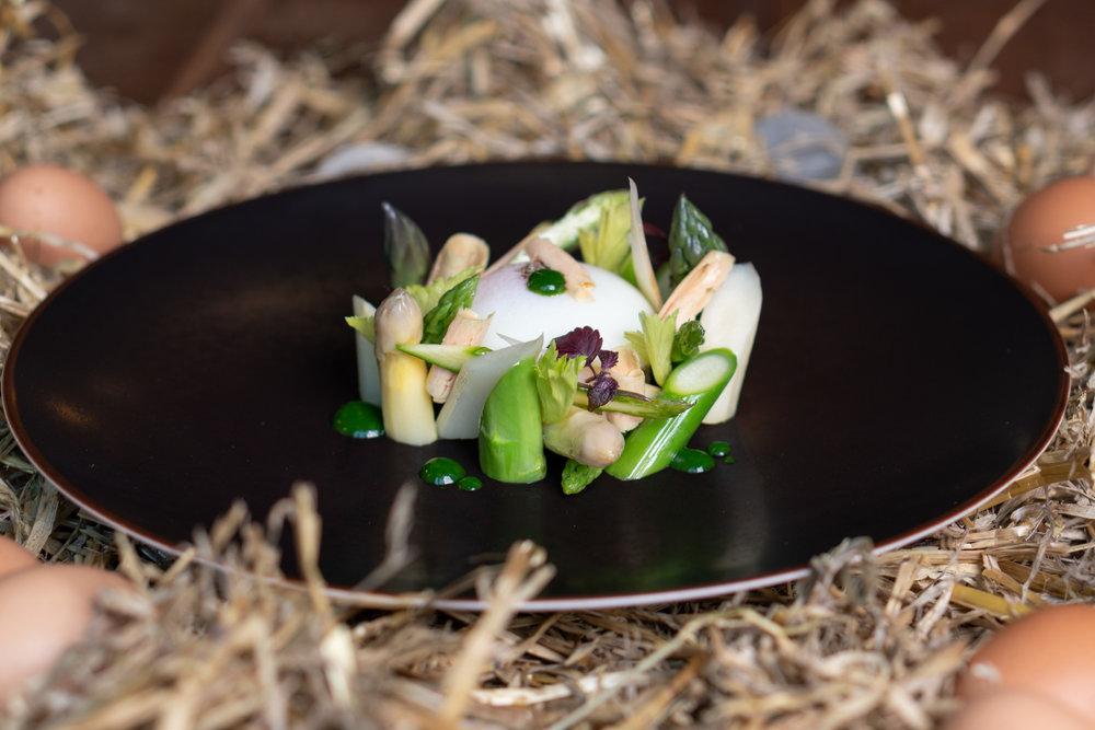 Plat gourmet gastronomique foie gras