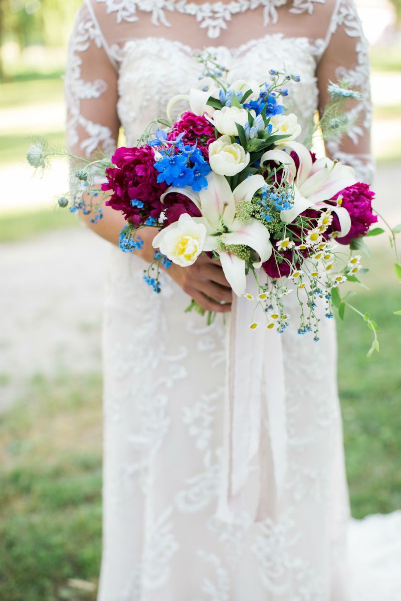 Dutch Floral Photoshoot Bridal Bouquet
