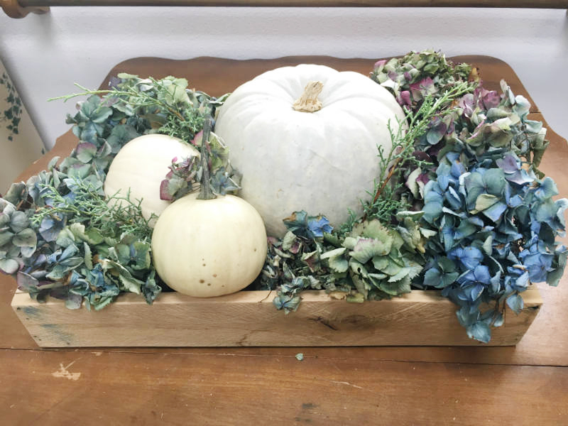 Fall Centerpiece Tray