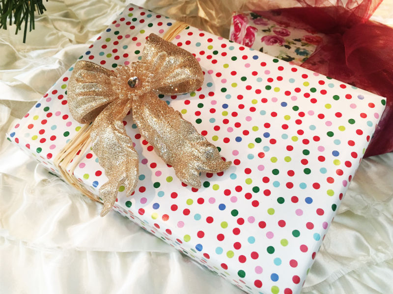 Gift - wrapping paper with ornament.jpg