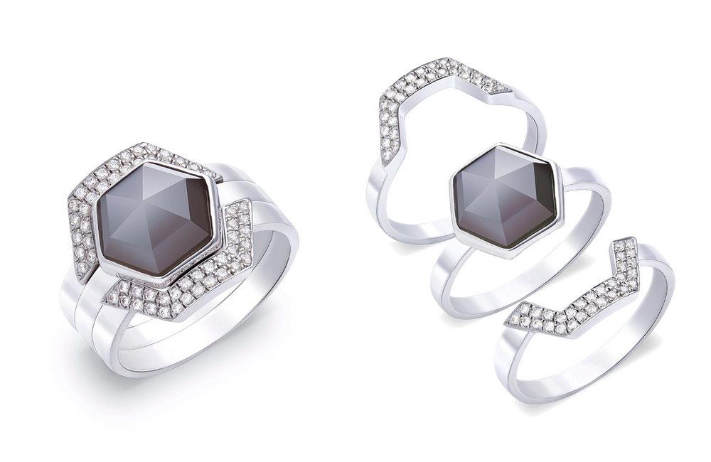 Hex Modular Jewellery