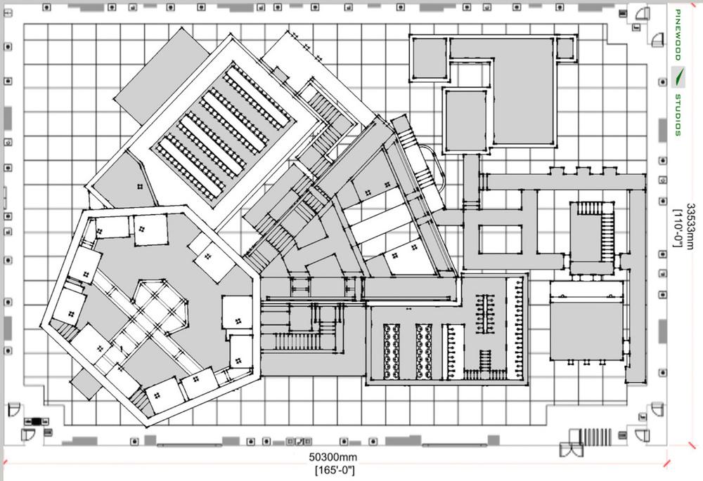 Sketch-Up teknisk plan tegning
