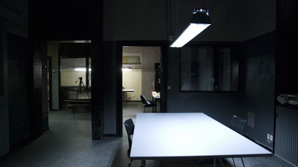 Politigården - aktionsrum indkig til afhøring