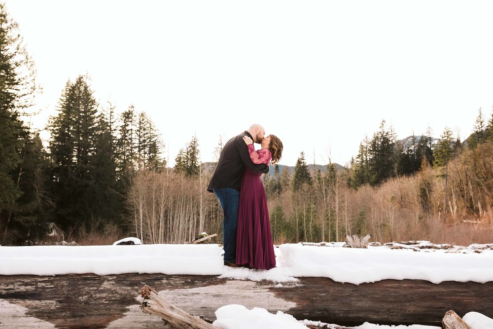 Skykomish engagement in the forest