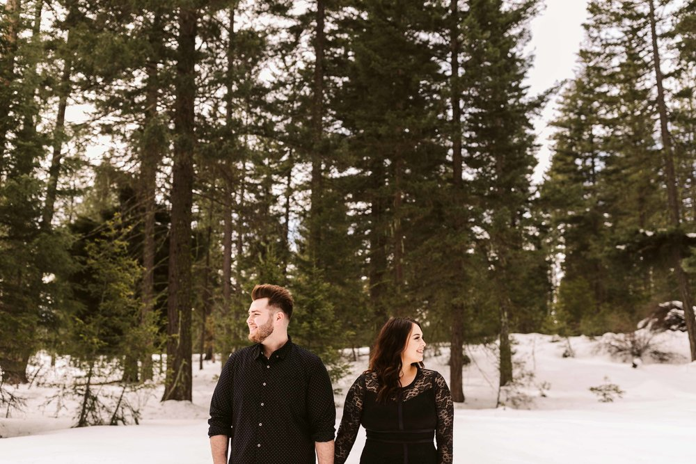 Forest Engagement photos in Roslyn, WA