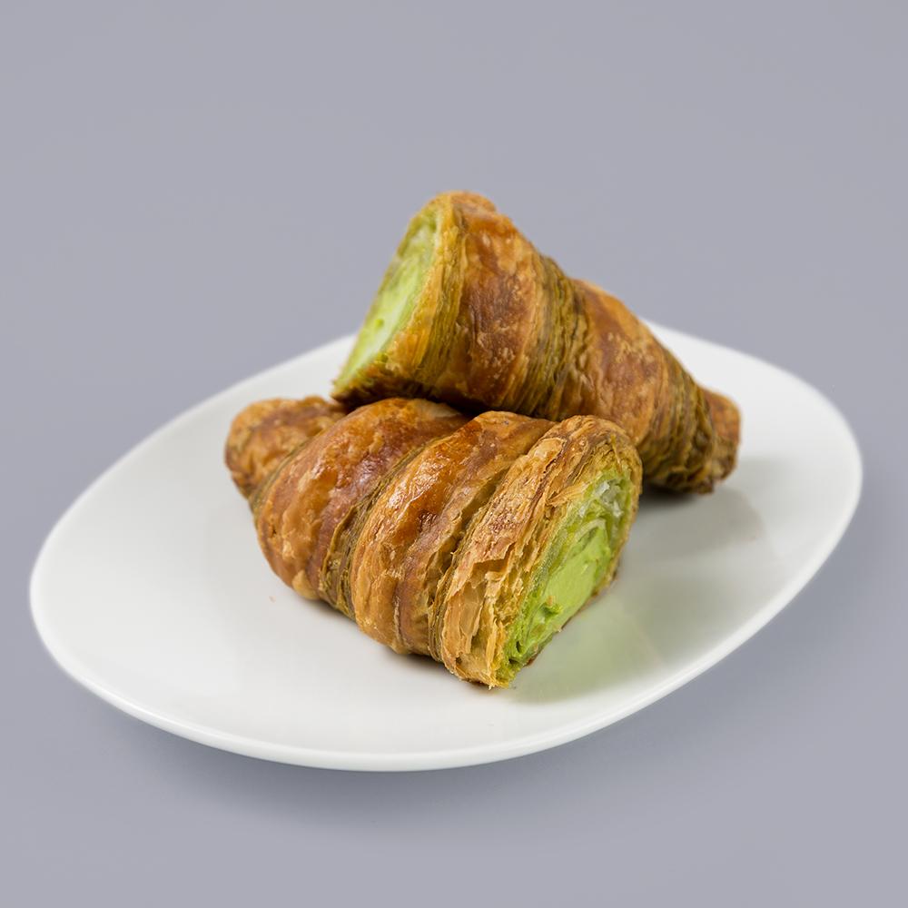 Croissant de té verde