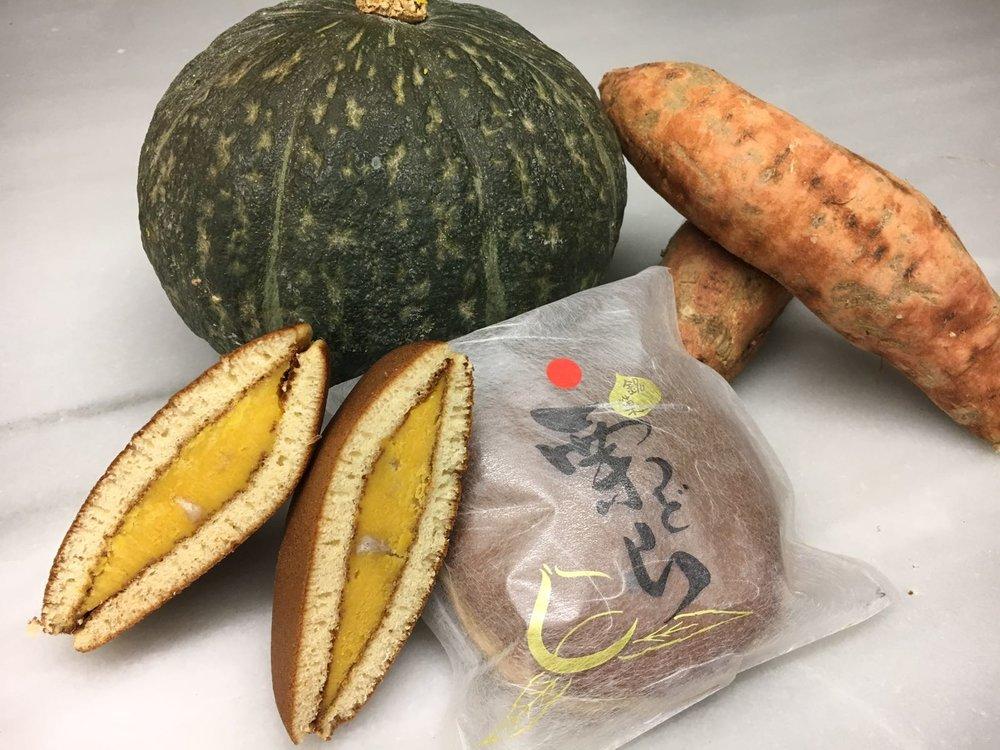 Dorayaki de castaña y anko