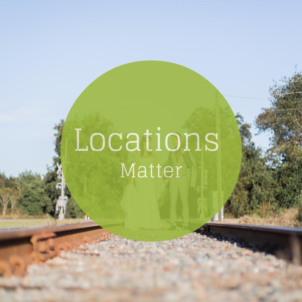 Locations Matter