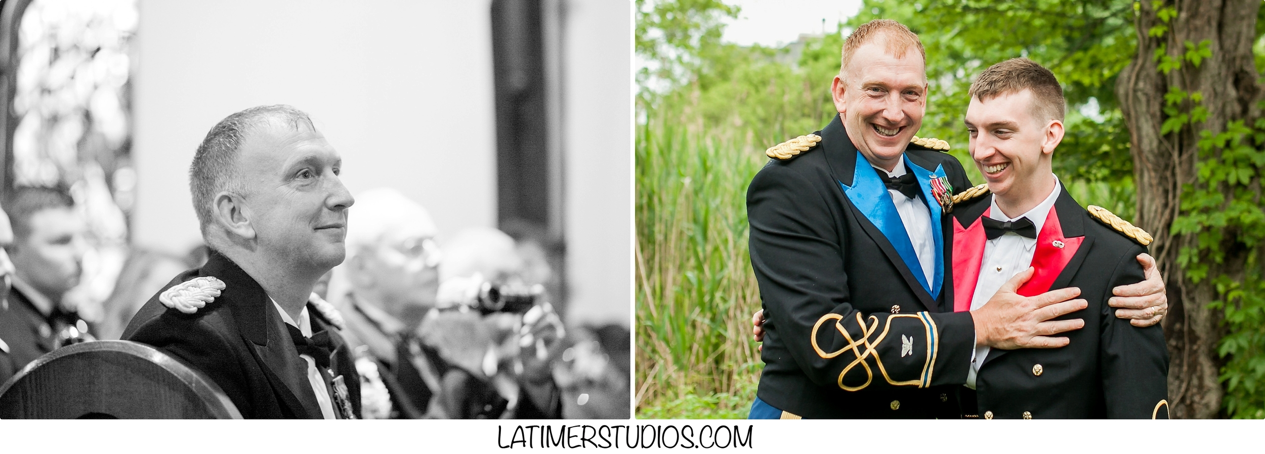 Latimer Studios Photography capturing father and son at St. Andrews by the Sea in New Castle NH