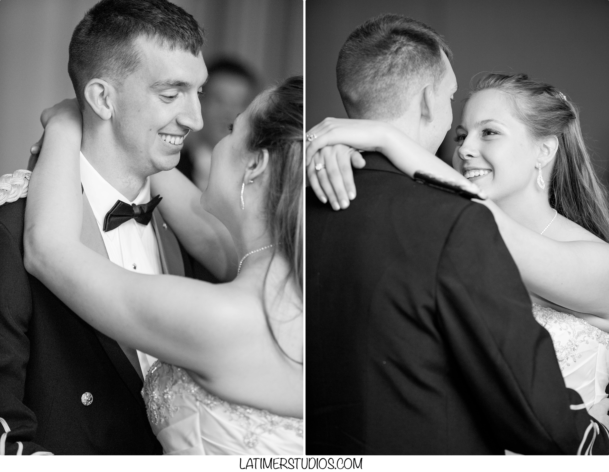 Latimer Studios Photography capturing a first dance at Wentworth by the Sea in Rye NH