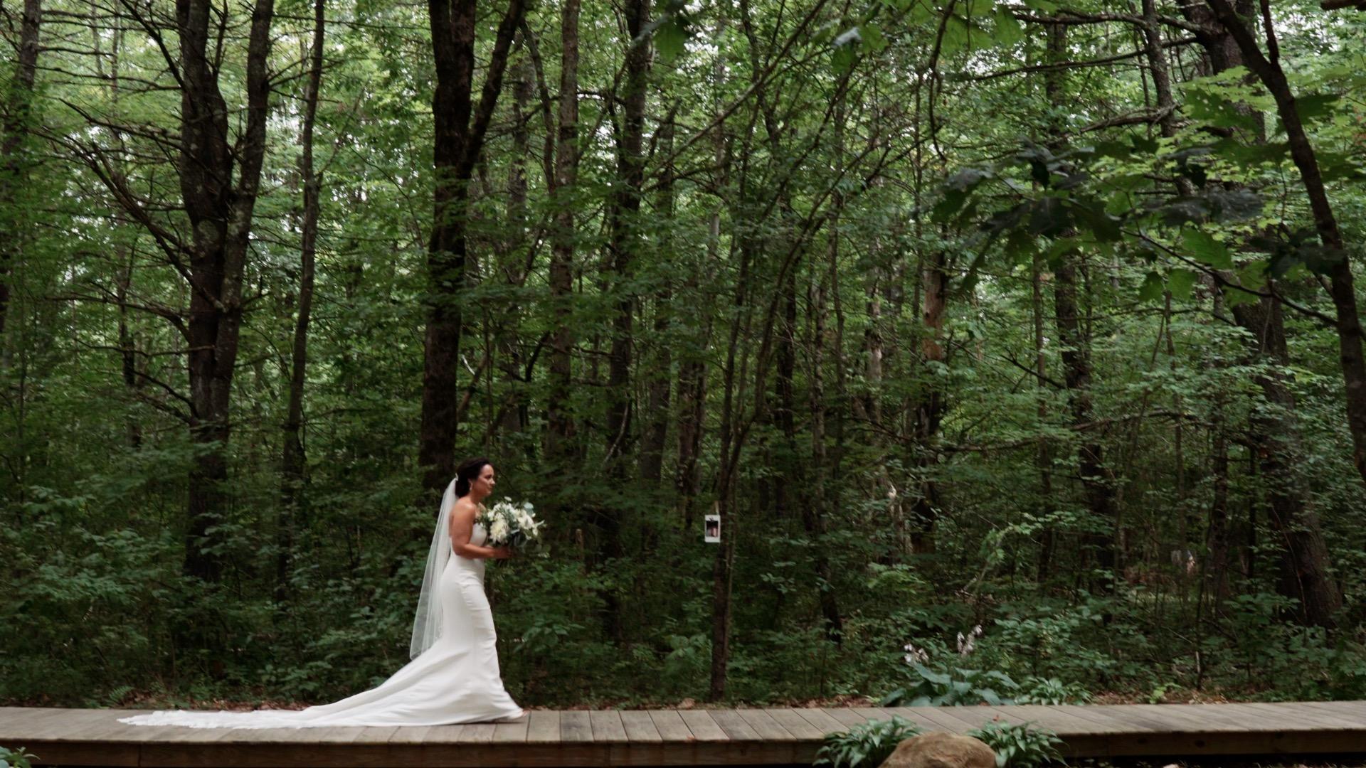 Barn At Flanagan Farm Wedding // Outdoor Wedding In The Woods // Maine  Wedding
