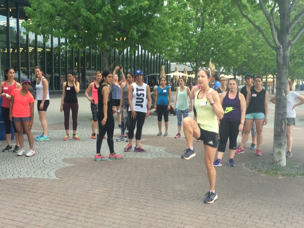 Sweatworking, The Runner's Edition - May 25th 2016 @ Workhaus