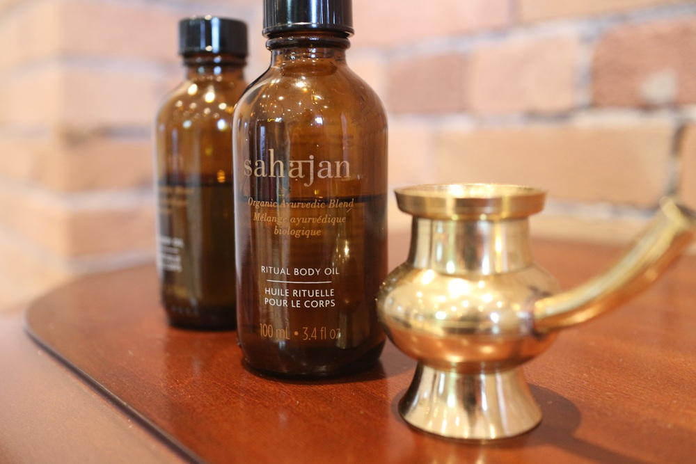 Body Oil from Sahajan
