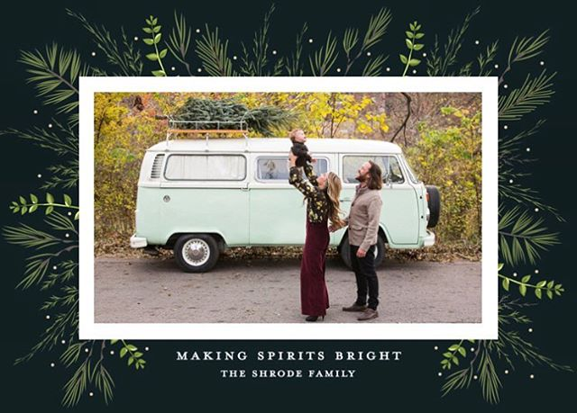 ✨making spirits bright✨ wishing you and yours a very merry holiday season! love from your favorite #vanfam 👪🎄❤️ #happyholidays #merrychristmas #vannagram #vwbus // 📷 by our fave new momma: @laurenreynoldsphotography