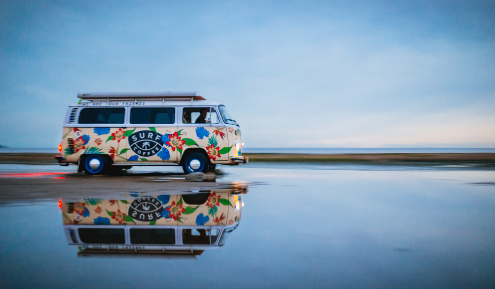 SURF COFFEE VW Transporter T2
