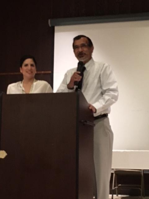 Rev. Frank Rivera and daughter Frances
