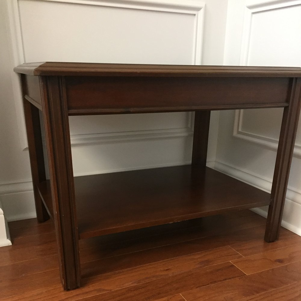 End Table (x2)