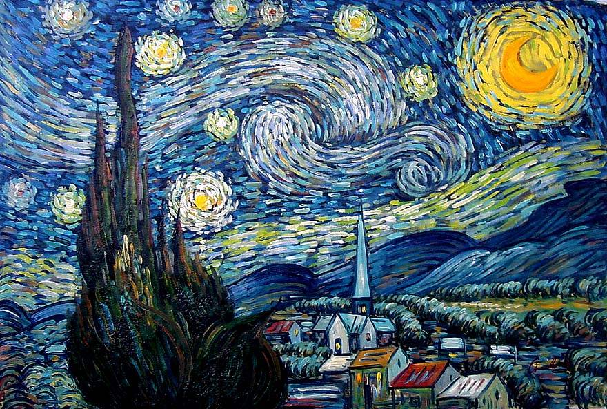 Image result for starry night painting