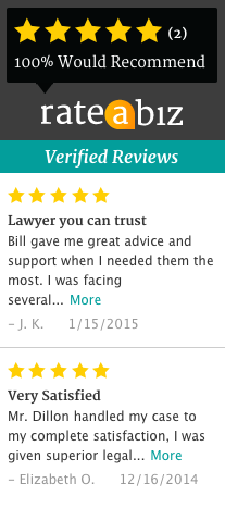 Dillon Law Group Five Star Rating