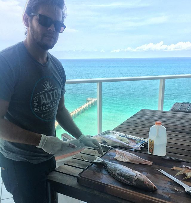 What being a chef in Miami looks like @akmeyer4 #chezlatravels