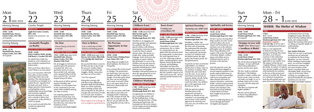 Dharmayatra leaflet timetable.jpg