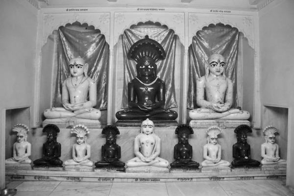 Shree Shantinath Bhagvan - Shree Parshwanath Bhagvan - Shree Ajitnath Bhagvan