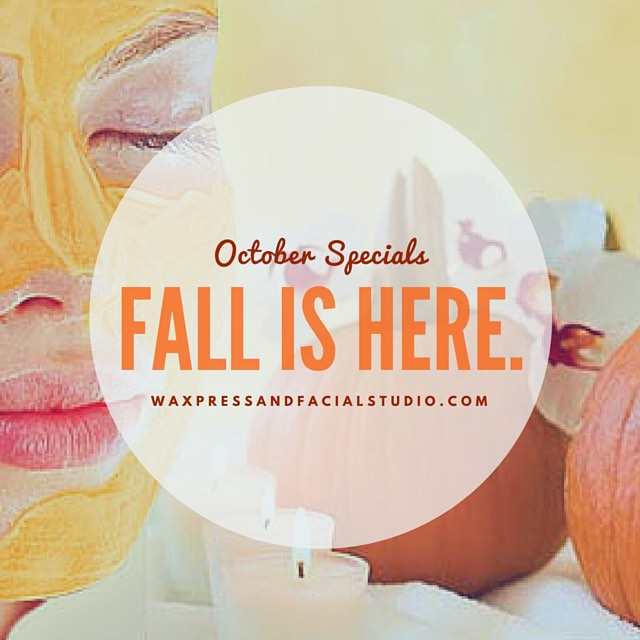 Can you believe it's October?! Come brighten and revitalize your skin with an ORGANIC Eminence yam facial for only $65! Tis the season! #waxpressfacial #waxpress #fallfacials #yambamthankyoumaam