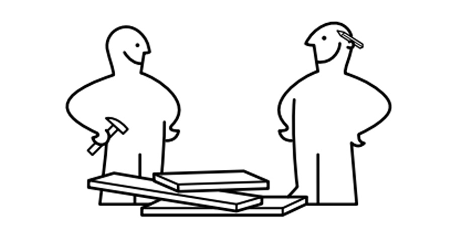 The signature IKEA assembly man
