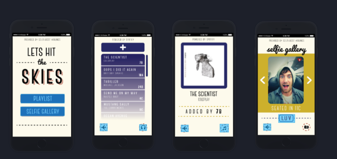 Experience the App       Art Direction: Alison Yakano