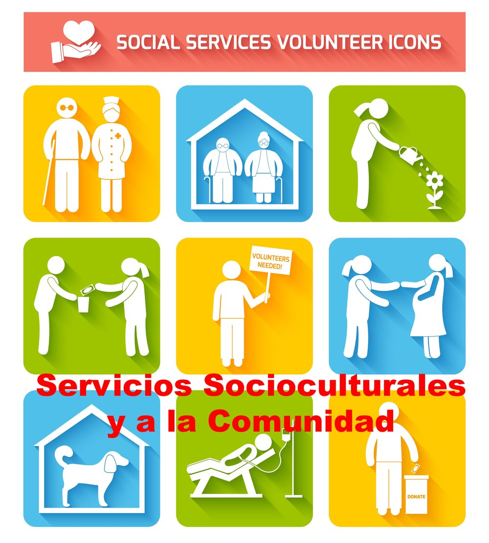 SERVICIOS SOCIOCULTURALES Y A LA COMUNIDAD.