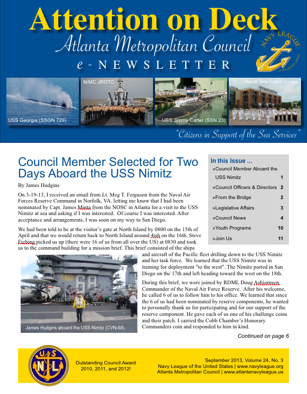 3RD QUARTER NEWSLETTER