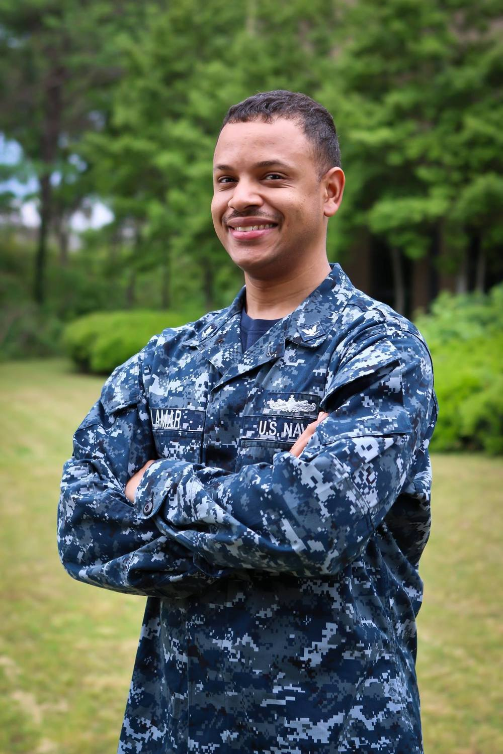 Petty Officer 3rd Class Mario Lamar