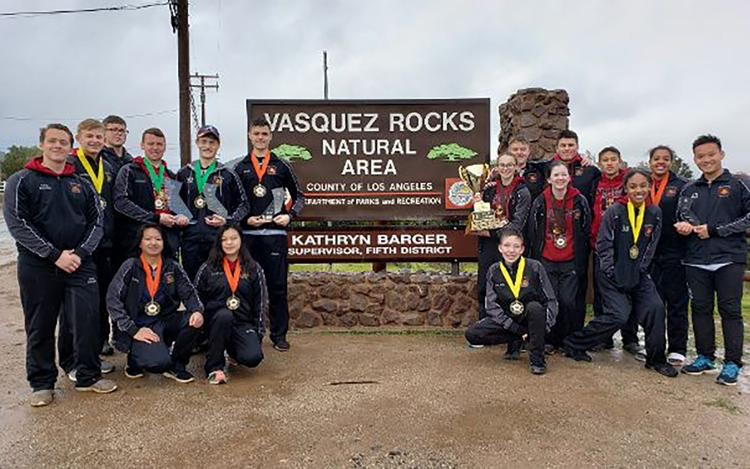 Hillgrove won this year's Navy JROTC Orienteering Championship in Ague Dulce, California. The annual competition brings the best orienteers from nearly 600 NJROTC units from around the country together.