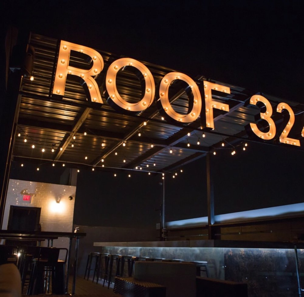 NIGHT VIEW OF THE ROOF via @ROOF324