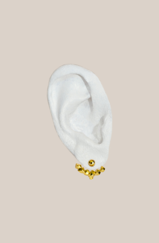 016. Argent 925 plaqué or jaune 18 carats.