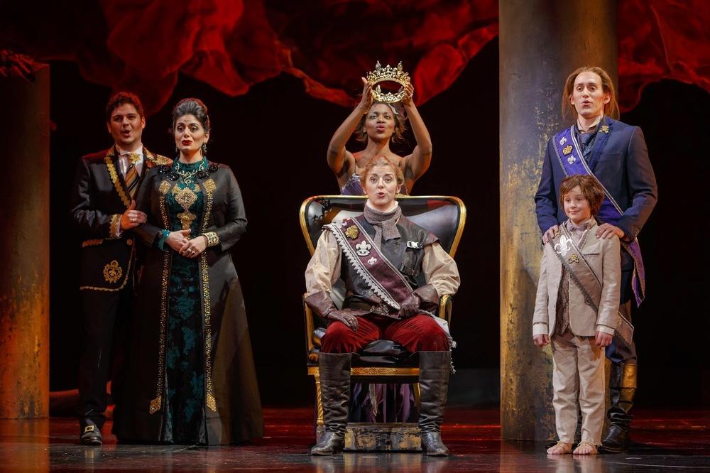 Rodelinda, Pittsburgh Opera, 2016, David Bachman