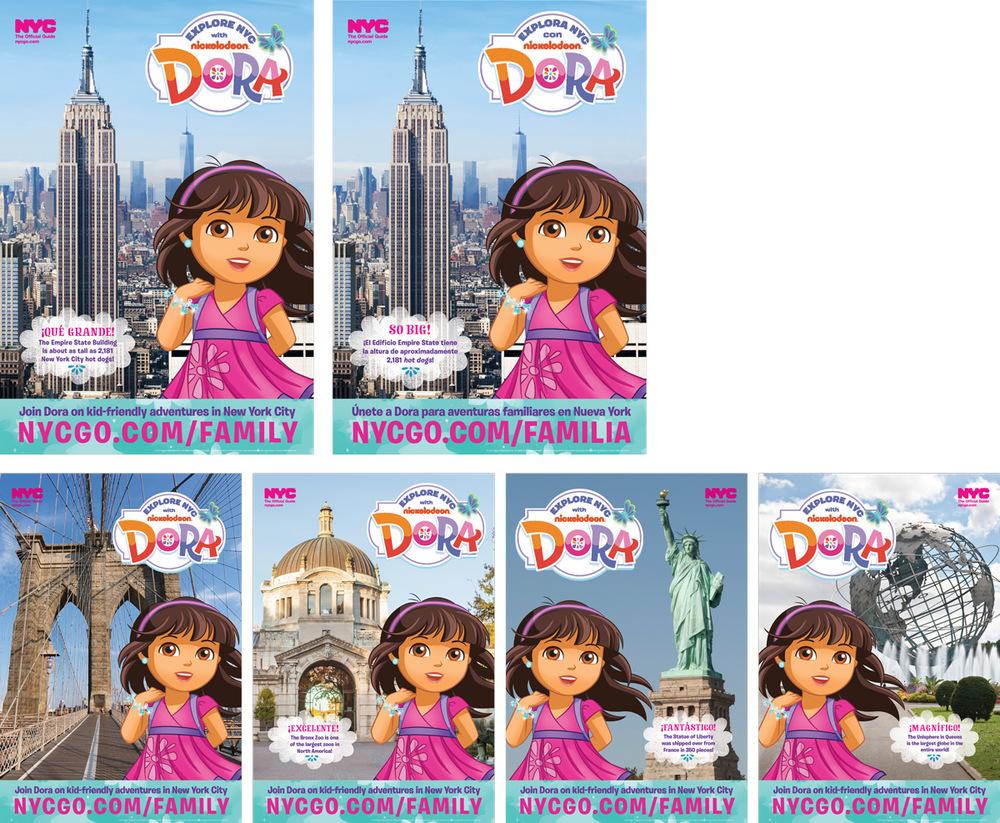 Dora bus shelters