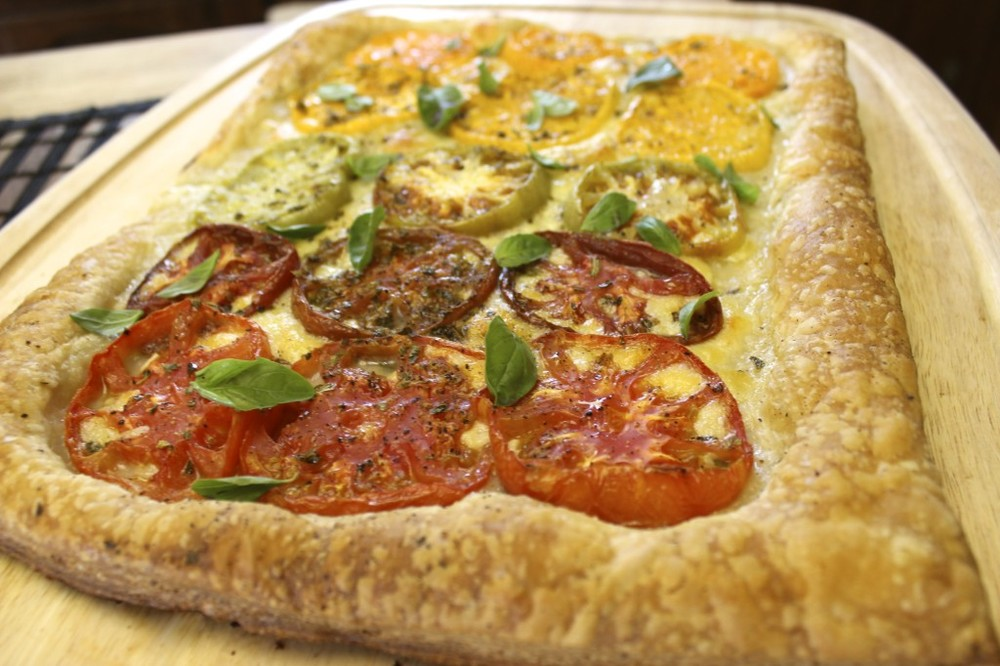 heirloom tomato tart 32